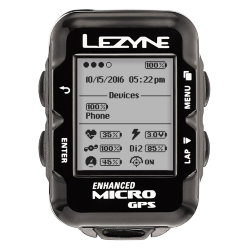 GPS компьютер Lezyne MICRO GPS HR LOADED
